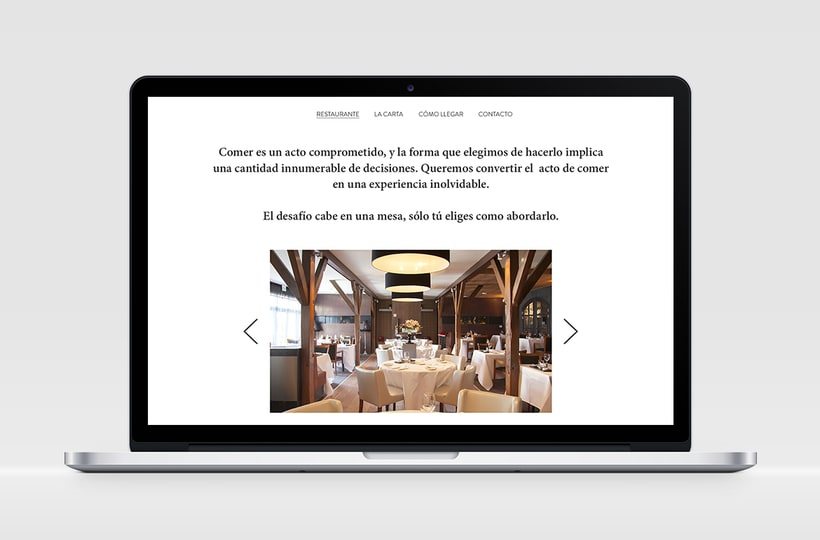 """Identidad Corporativa y website responsive """"El Carmen"""" (restaurante) 4"""