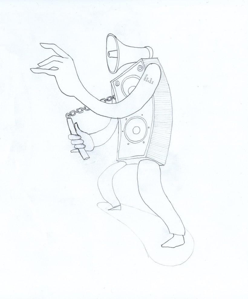 robo - altavoz danzante 1