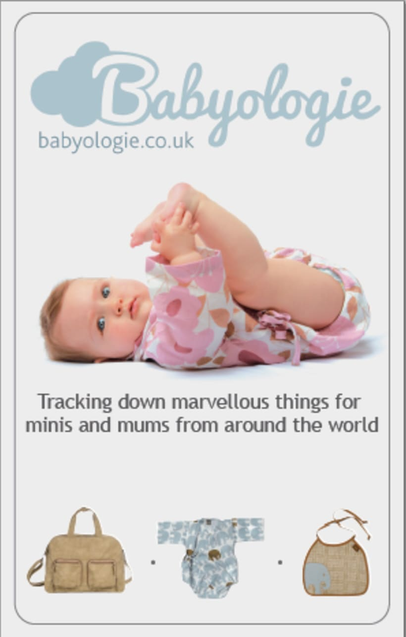 Designs for Babyologie.co.uk 0