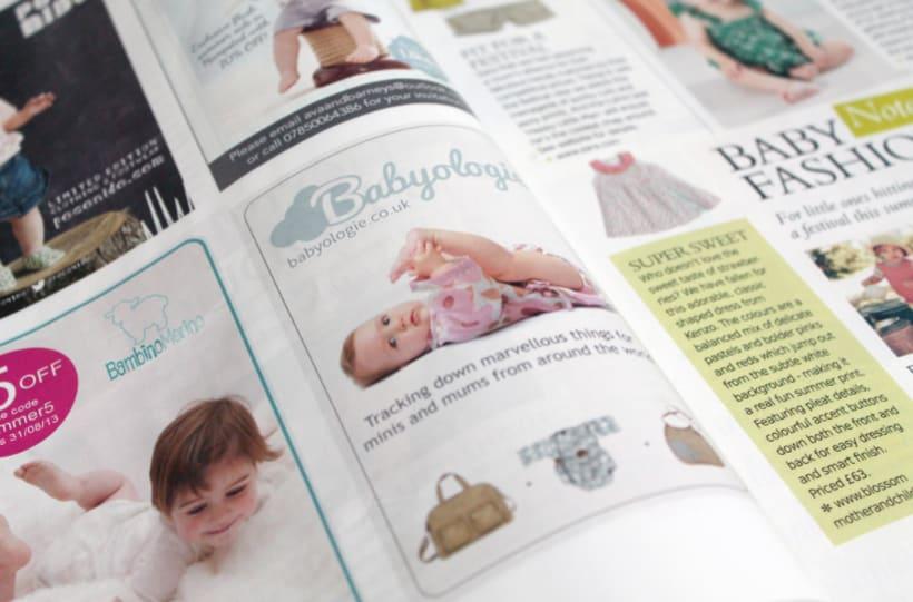 Designs for Babyologie.co.uk 1