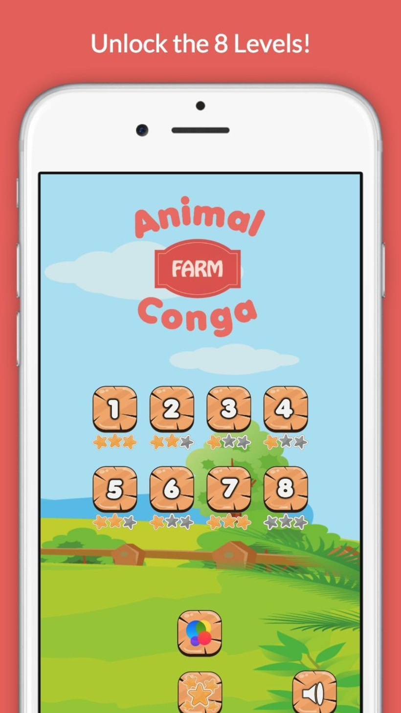 Animal Conga: Farm -1