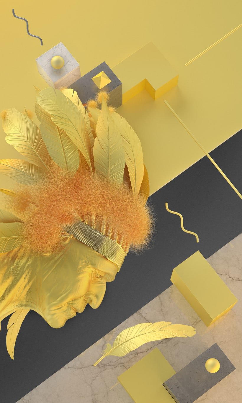 GOLDEN FEATHER 4