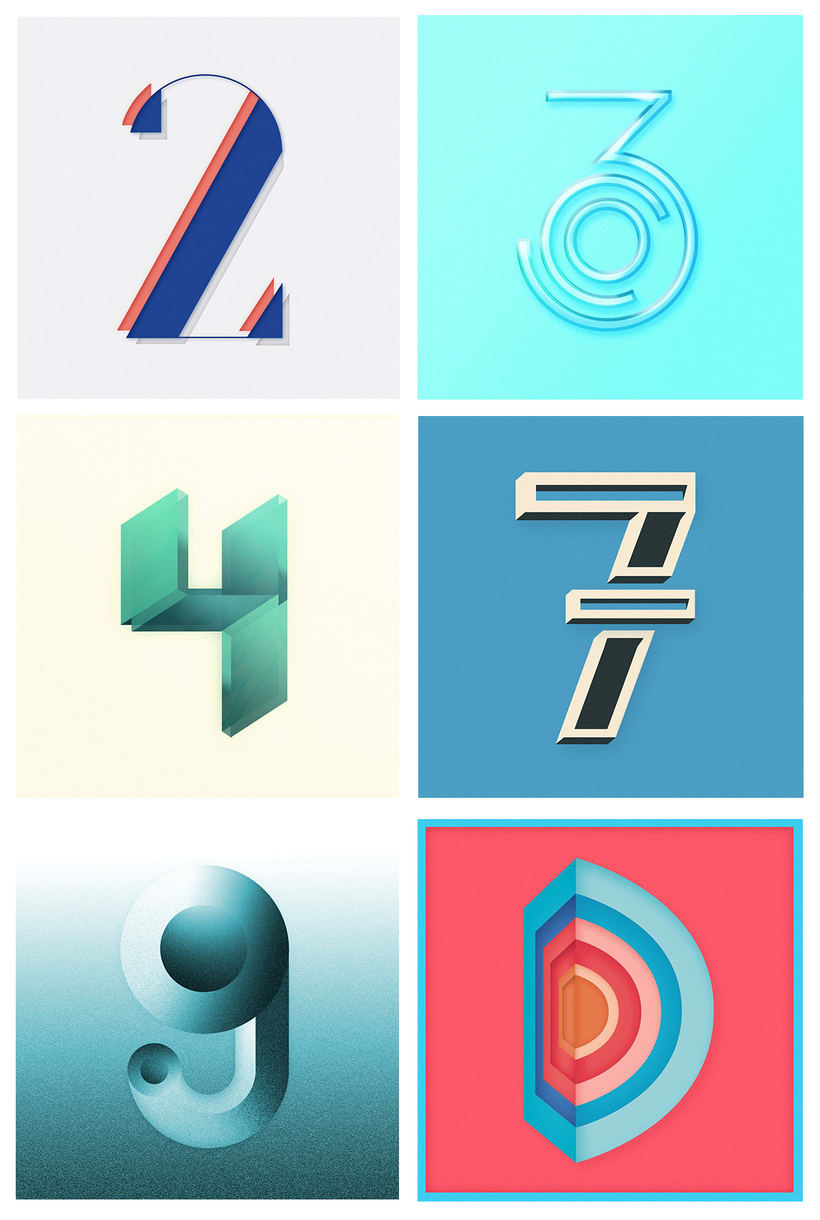 36 days of type - Selection 1