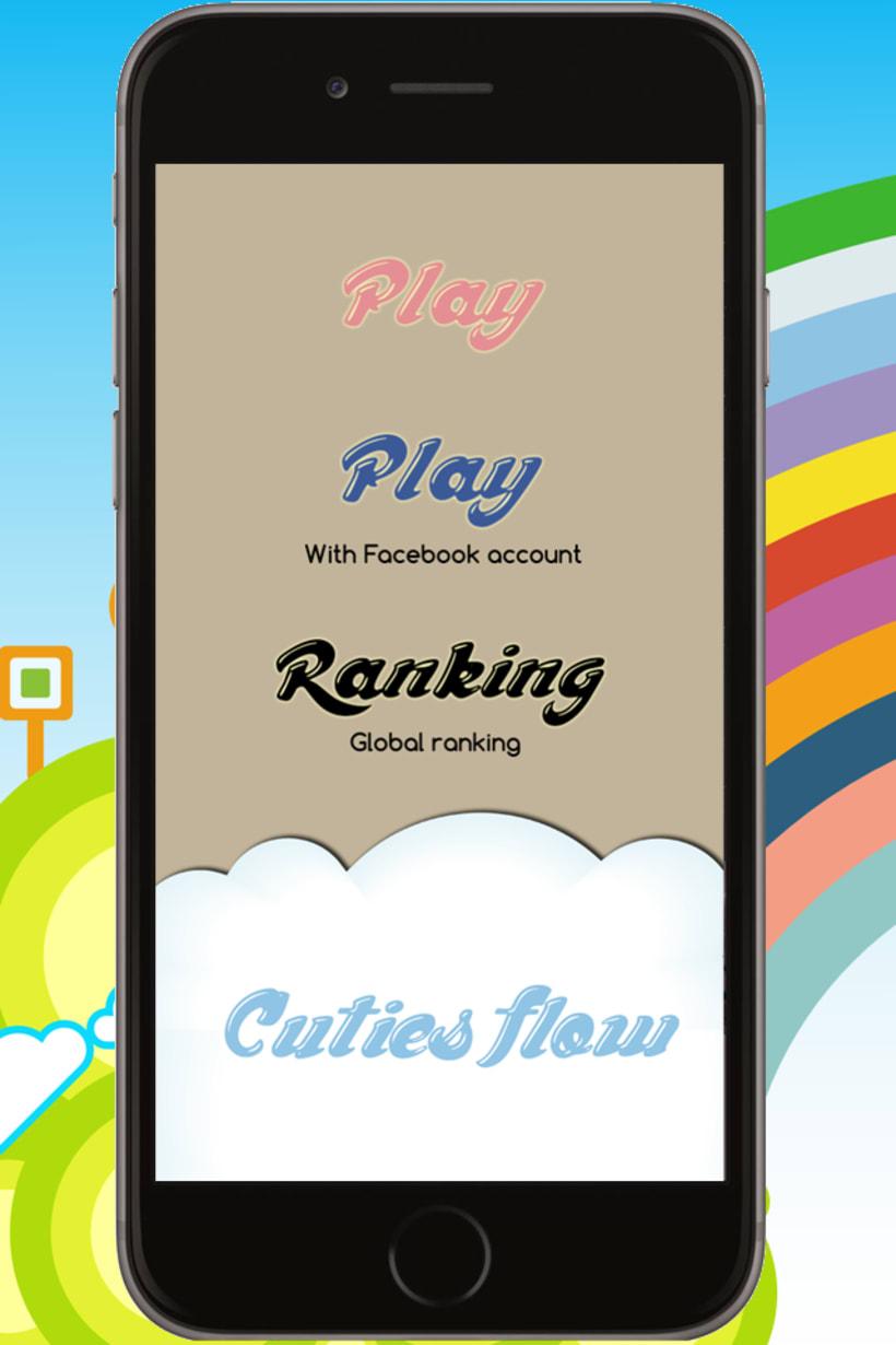 Cuties Flow - iPhone game -1