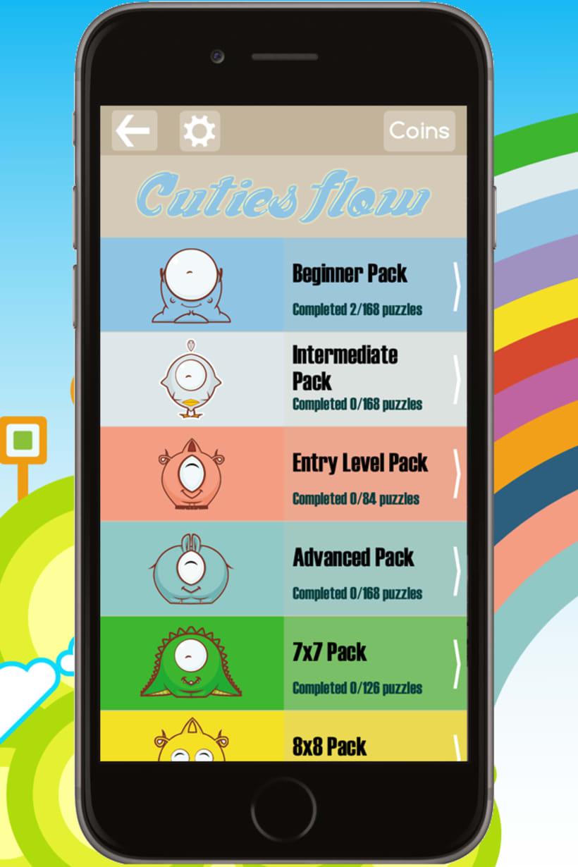 Cuties Flow - iPhone game 0