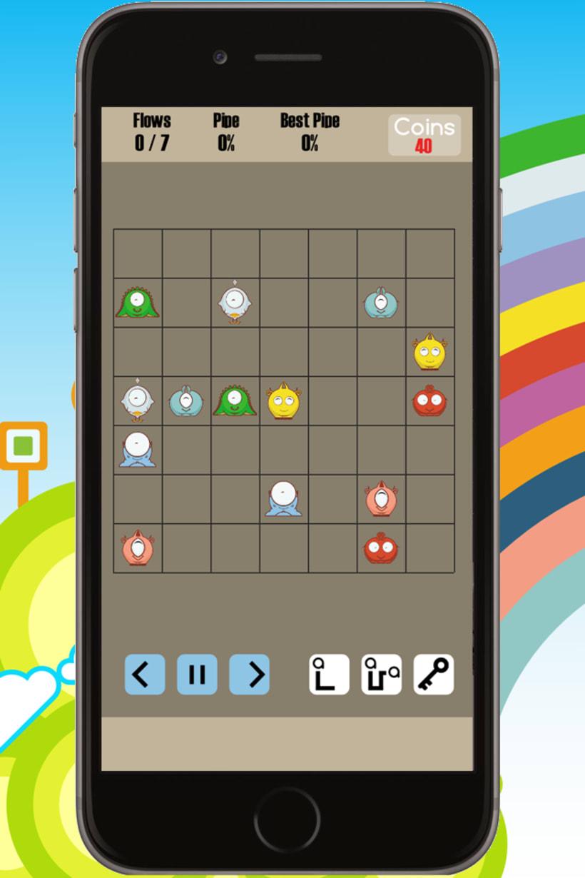 Cuties Flow - iPhone game 1
