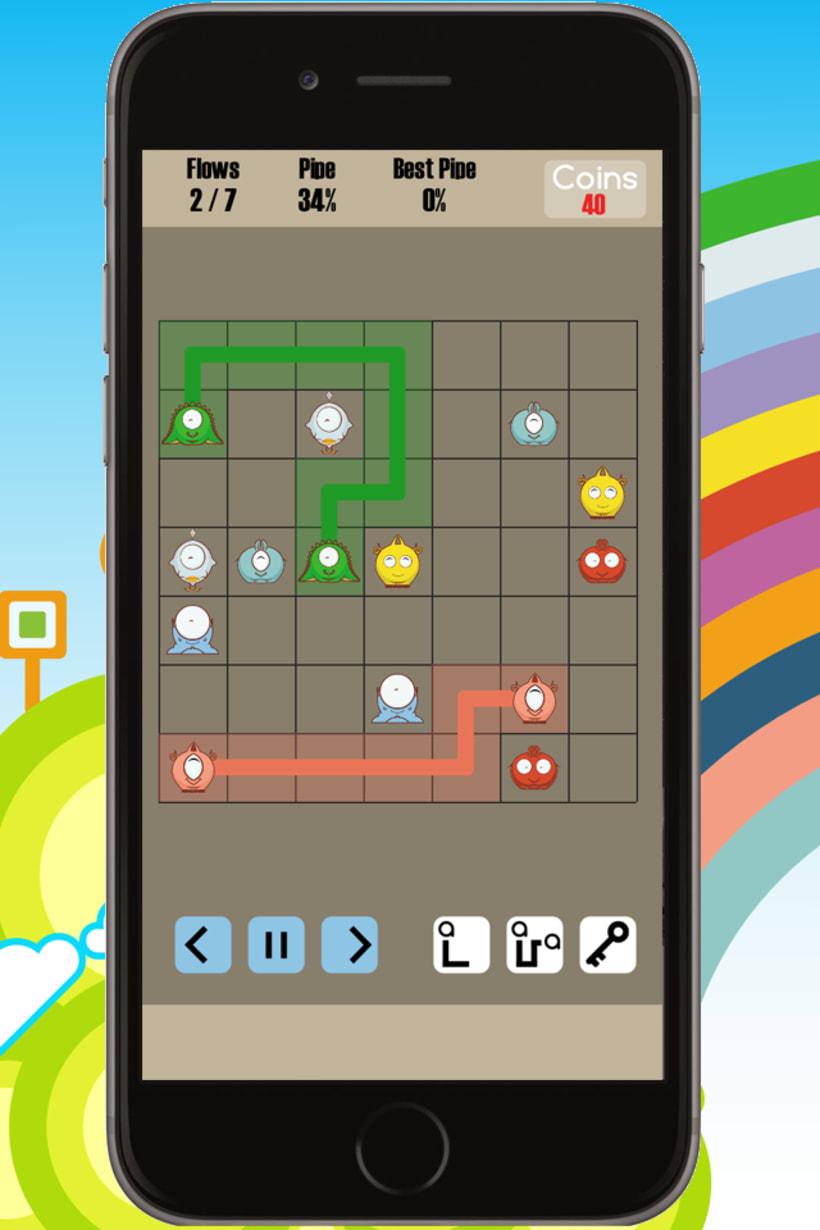 Cuties Flow - iPhone game 2