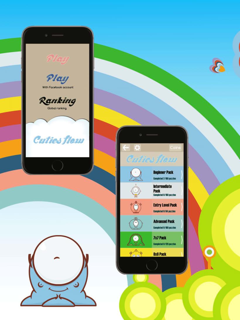 Cuties Flow - iPhone game 3