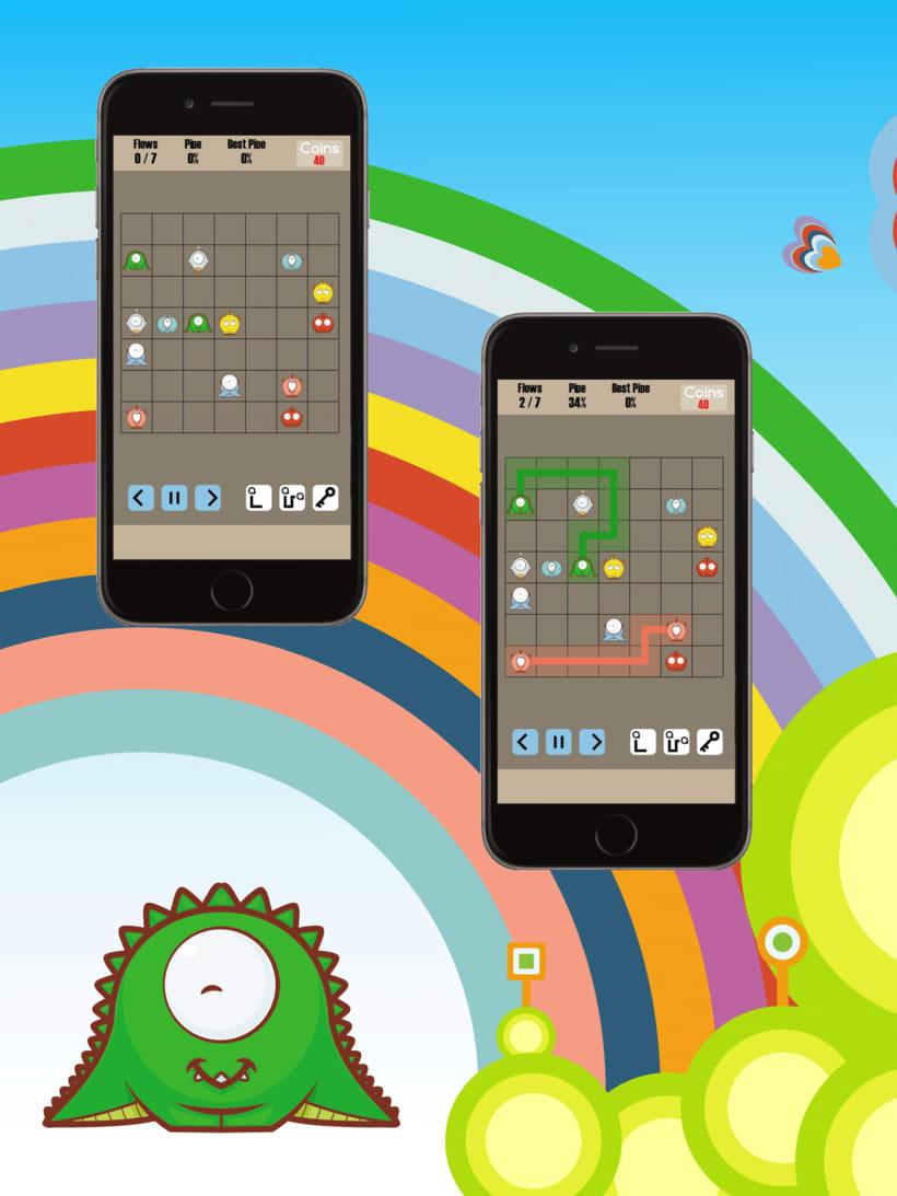 Cuties Flow - iPhone game 4