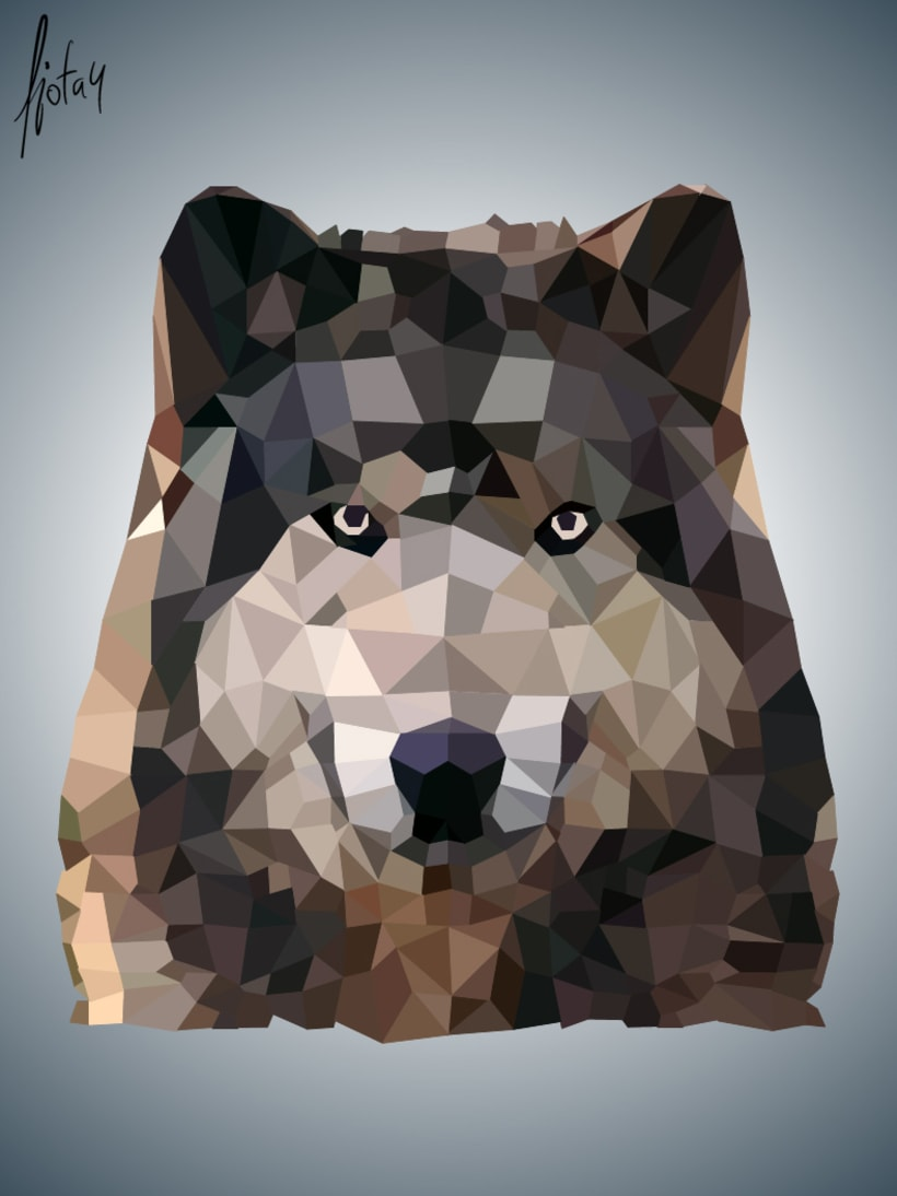 Wolf - Low Poly 3