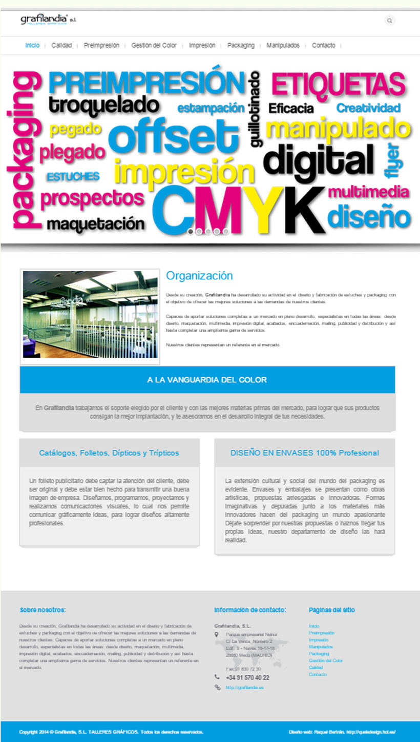 Web Development and Design grafiladia.es 1