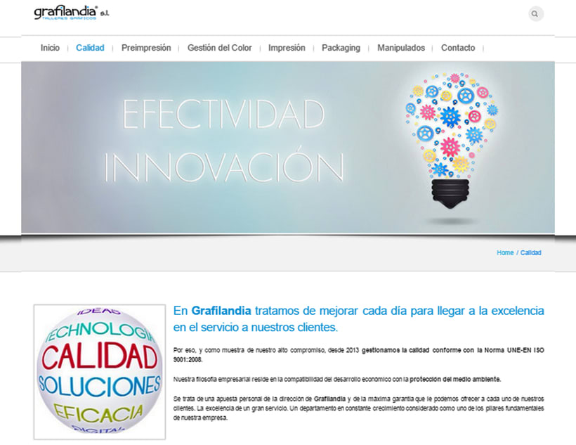 Web Development and Design grafiladia.es 2
