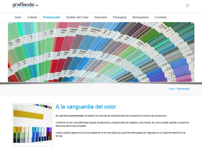 Web Development and Design grafiladia.es 3