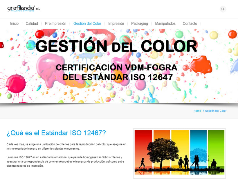 Web Development and Design grafiladia.es 4
