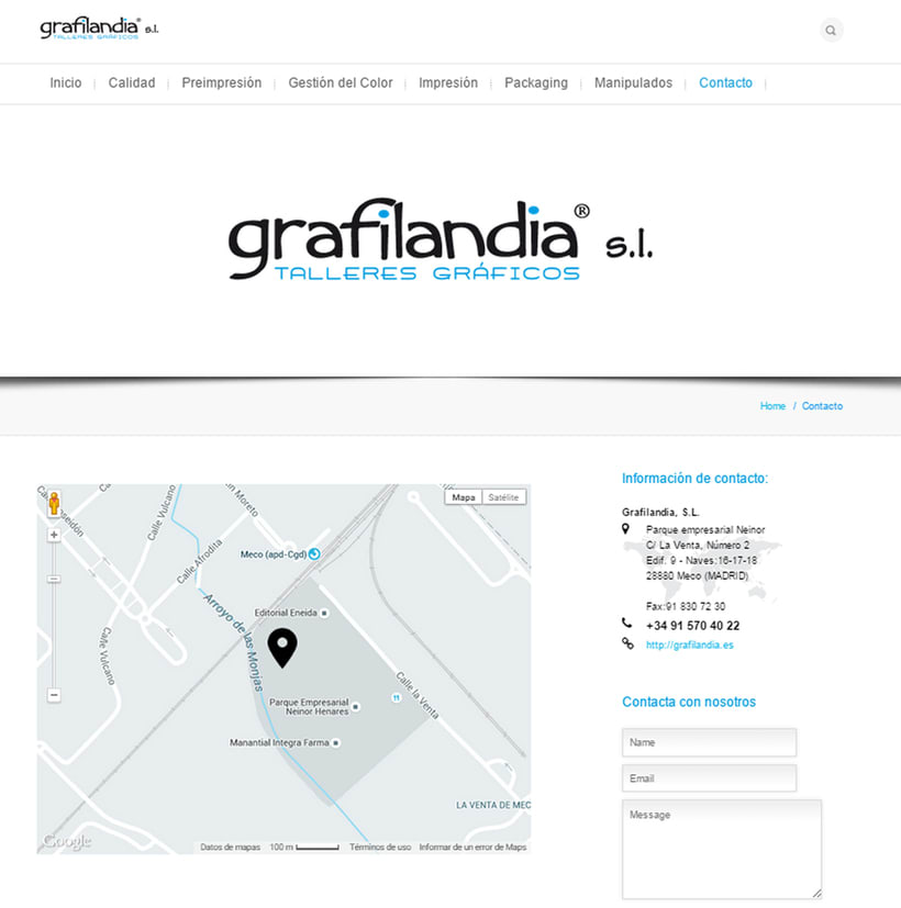 Web Development and Design grafiladia.es 8
