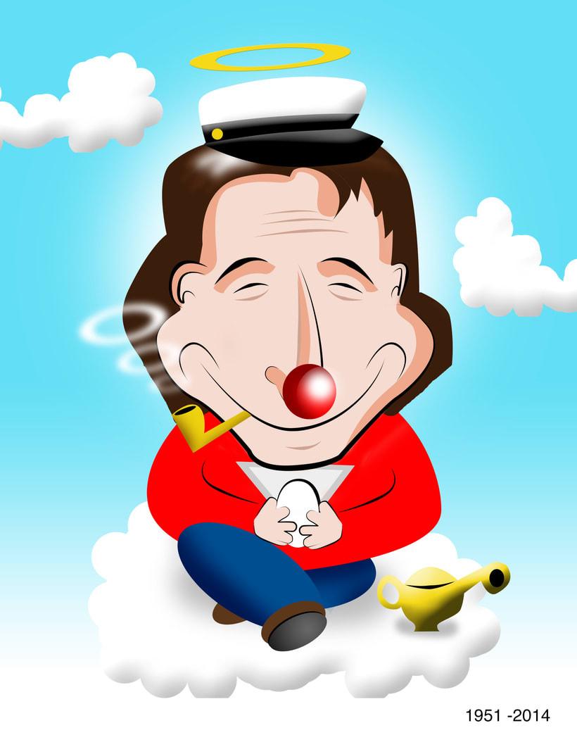 Tributo a Robin Williams -1