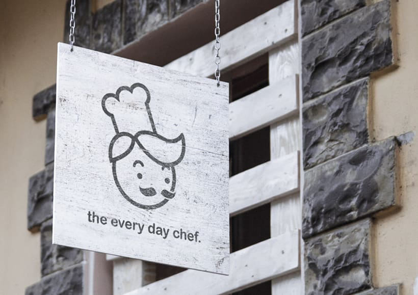 THE EVERY DAY CHEF.IDENTIDAD. 1