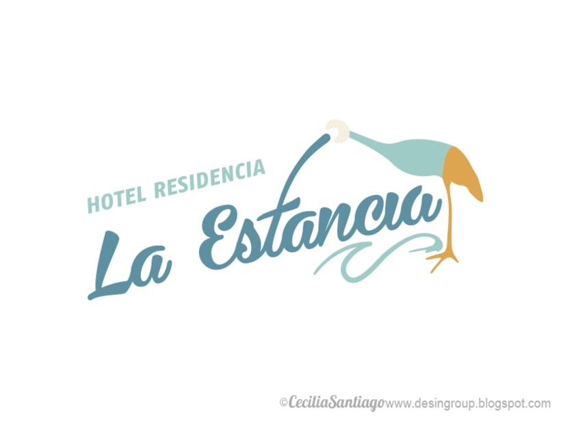 Hotel Residencia La Estancia - Logotipo 1