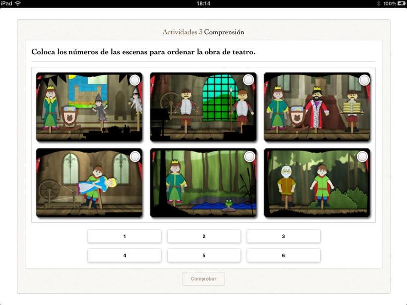 La Bella Durmiente - iBook 5