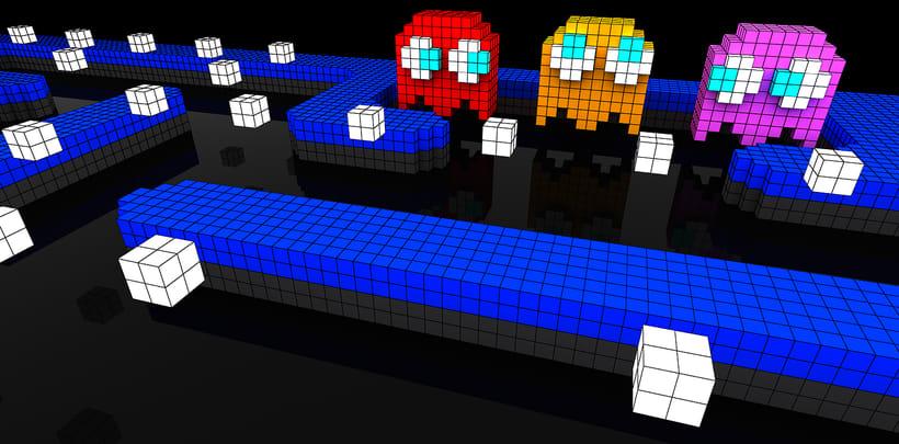 Voxel Pacman Adventure 0