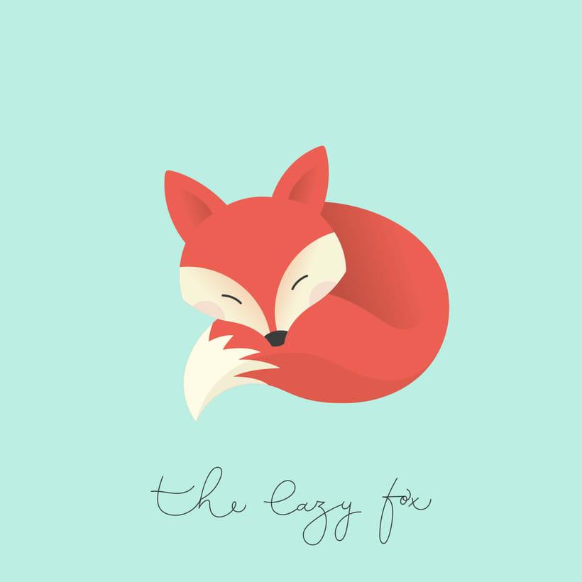 The lazy fox 1