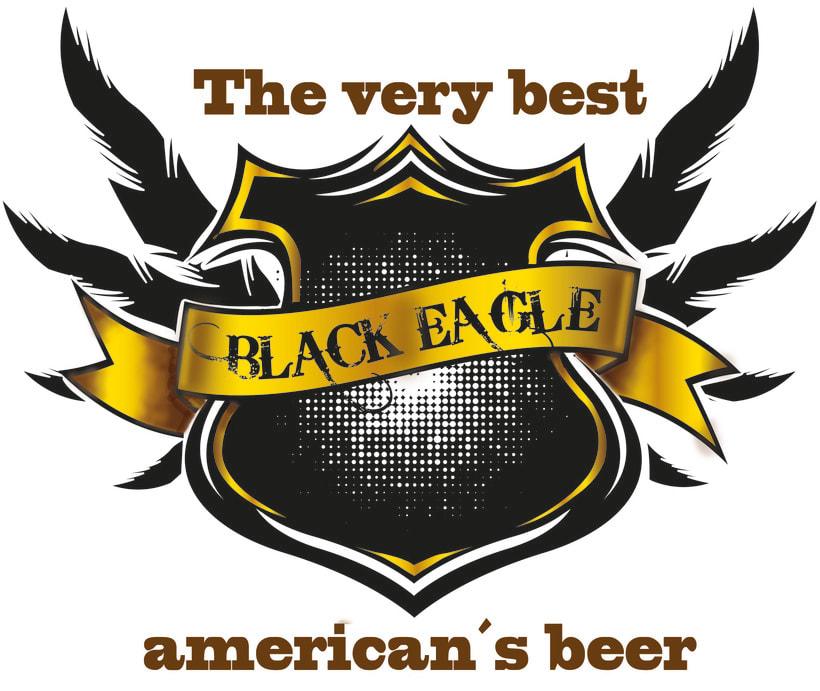 Cerveza  Black Eagle -1