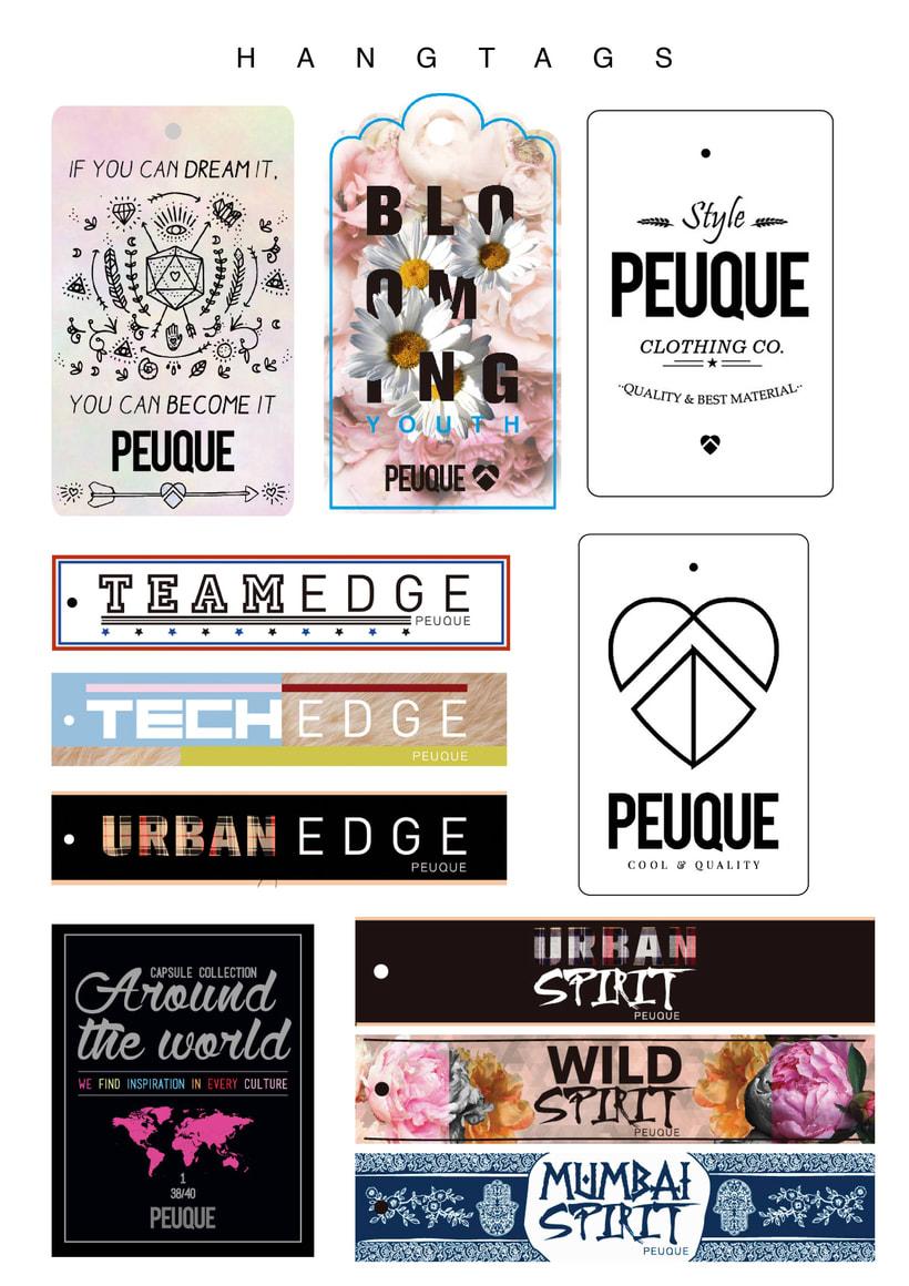 Fashion Hang tags: Peuque 0