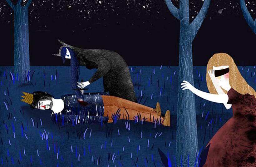 cuentos tradicionales,  bella durmiente  0
