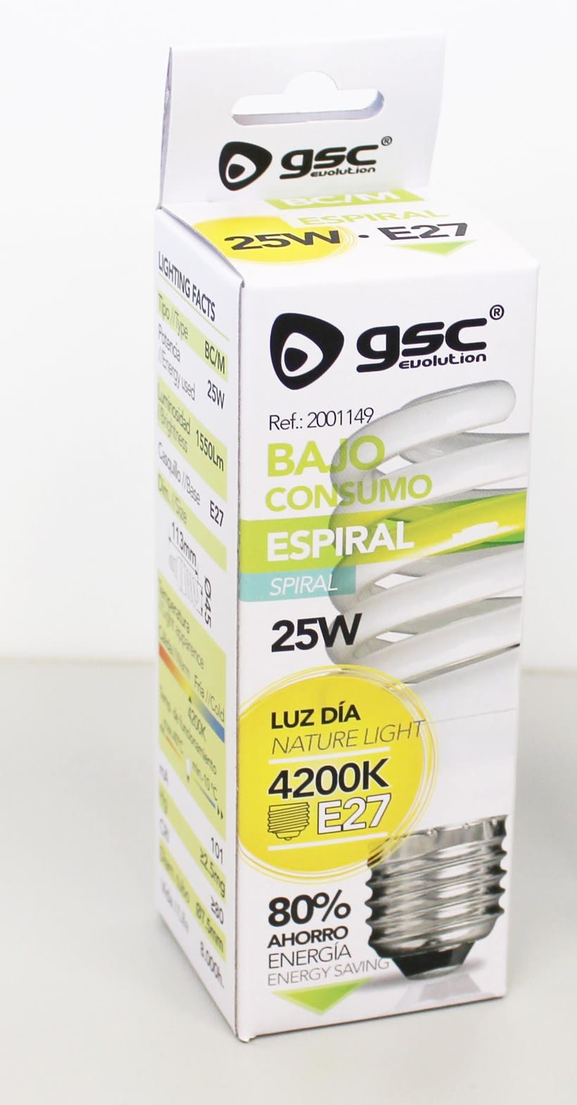 Packaging Bajo Consumo GSC 6