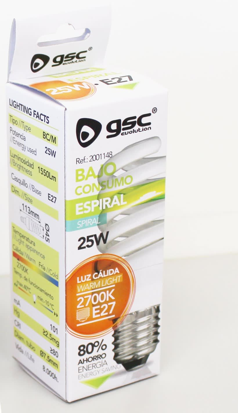 Packaging Bajo Consumo GSC 7