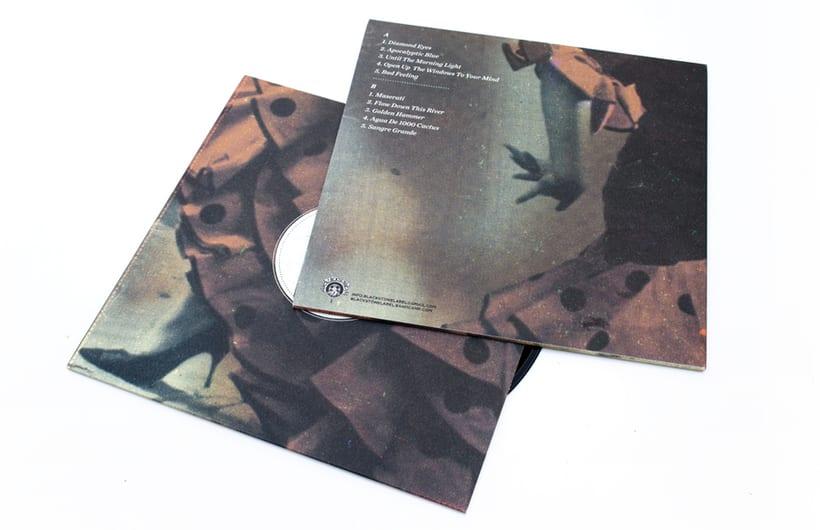 "The Dust Bowl ""Sangre Grande"" lp y cd 2"