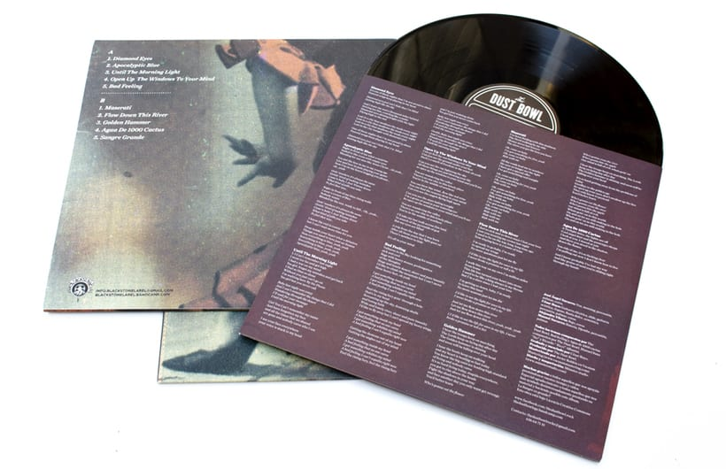 "The Dust Bowl ""Sangre Grande"" lp y cd 4"