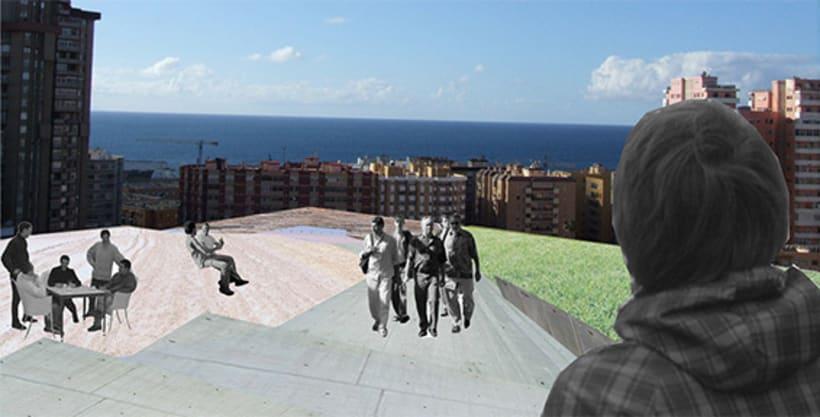 ULPGC Paisaje en Las Palmas de Gran Canaria 3