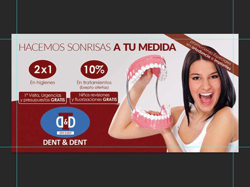 Campaña publicitaria Dent & Dent - Hacemos sonrisas a tu medida 0