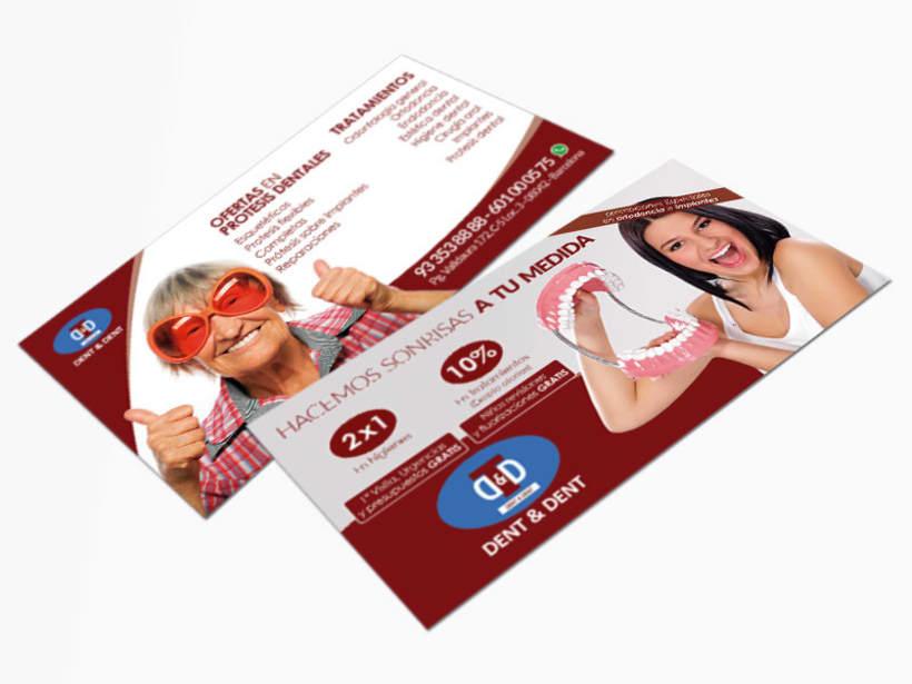 Campaña publicitaria Dent & Dent - Hacemos sonrisas a tu medida 1