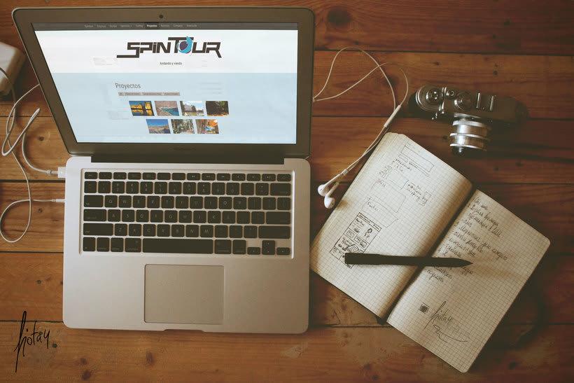 Maquetación web - Spintour.es 3