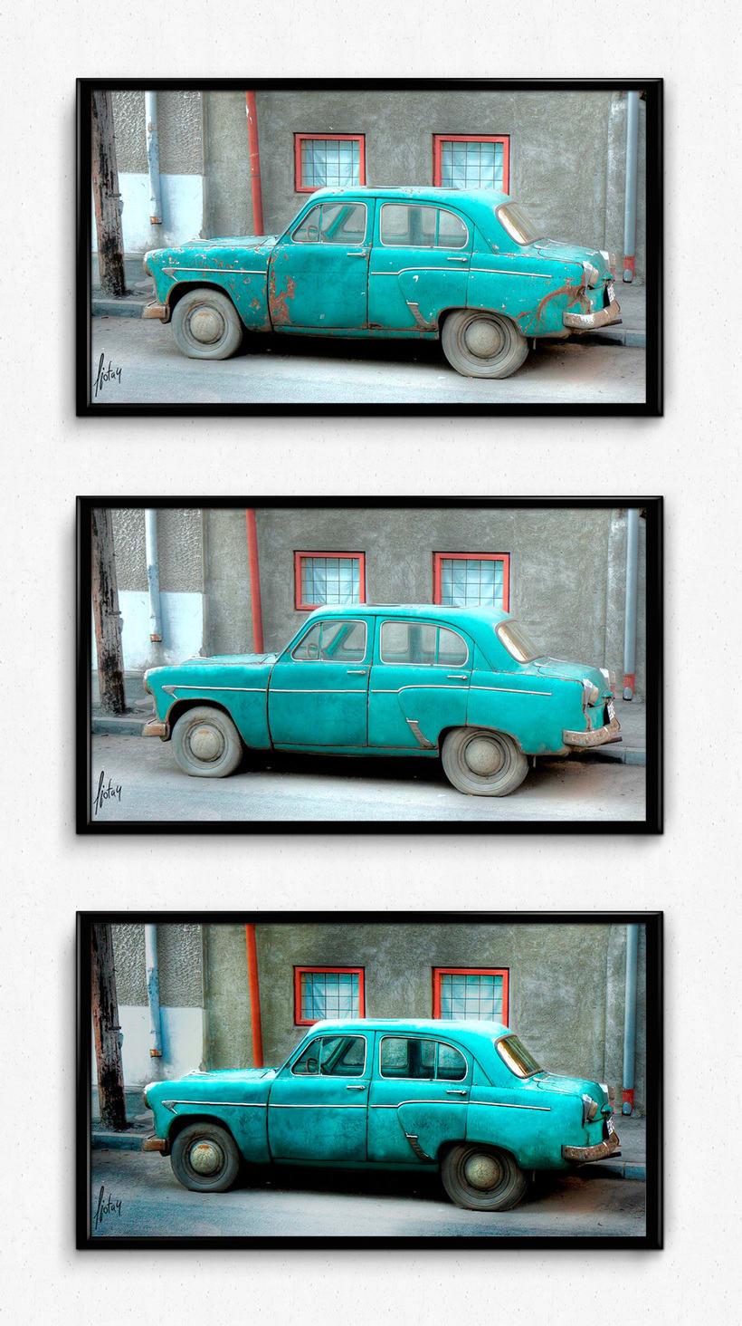 Retoque digital - Old Car 1