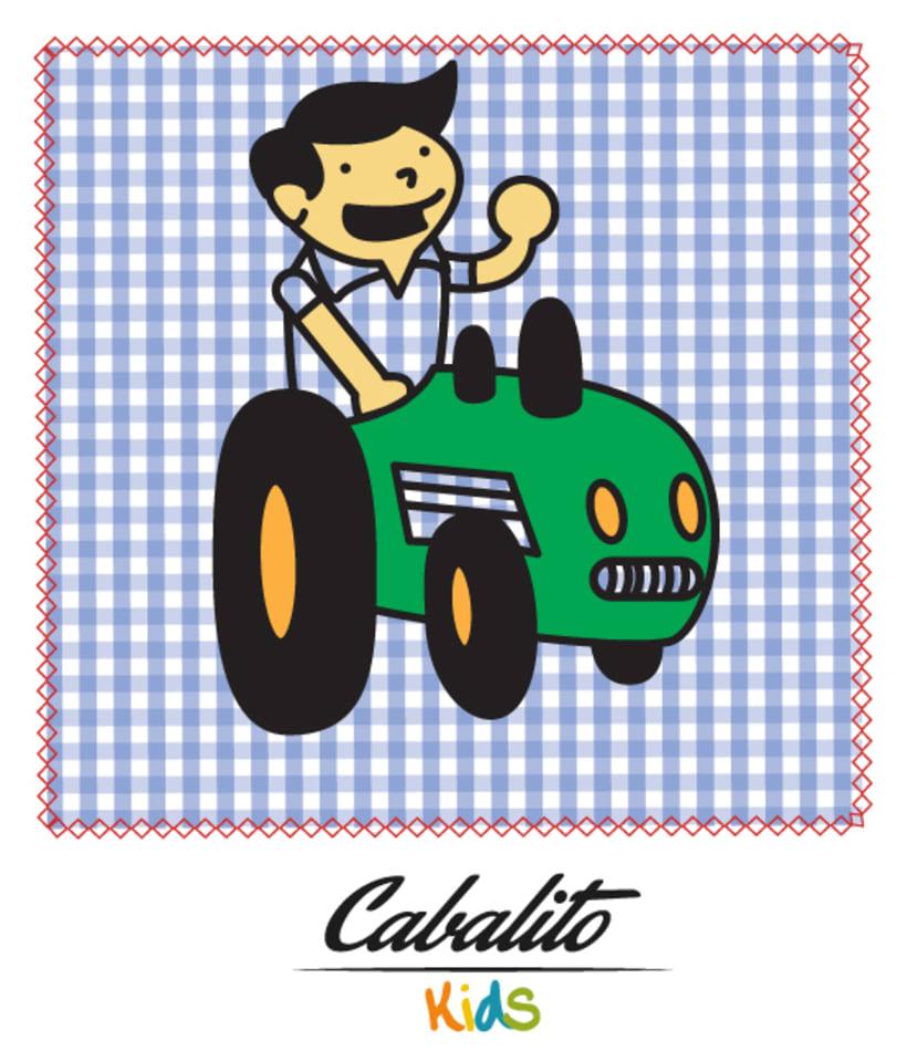 Los Chaches, diseño de personajes infantiles 3