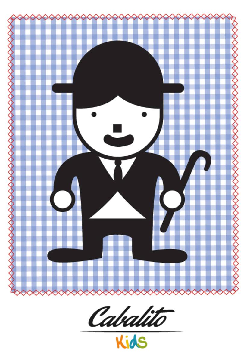 Los Chaches, diseño de personajes infantiles 9