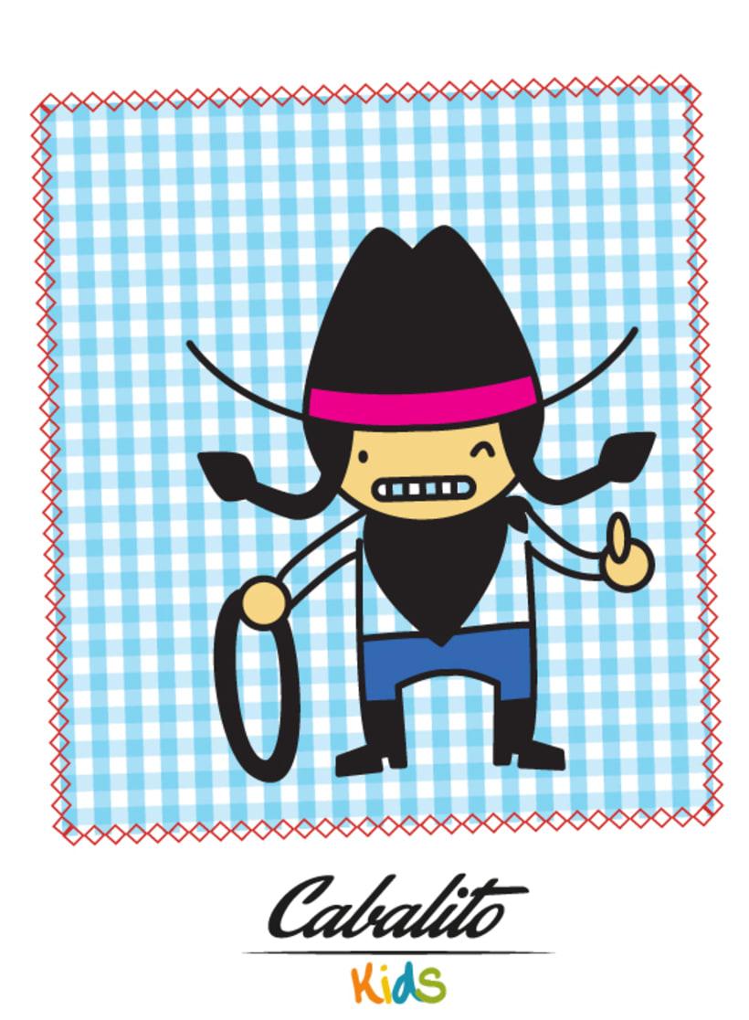 Los Chaches, diseño de personajes infantiles 11