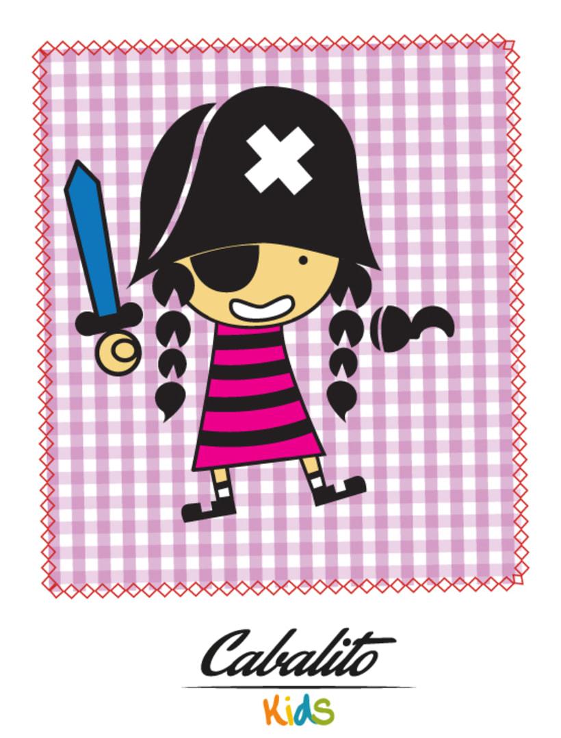 Los Chaches, diseño de personajes infantiles 15