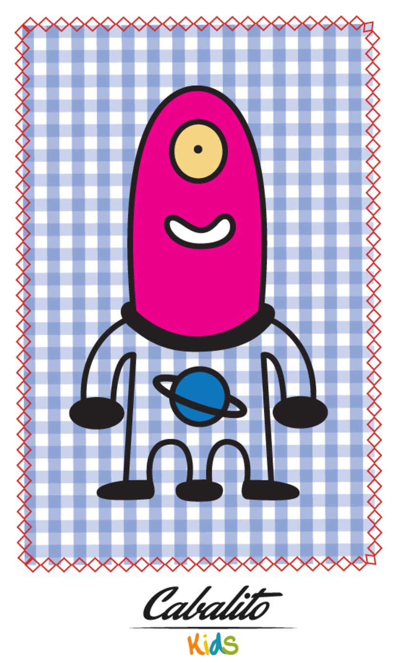 Los Chaches, diseño de personajes infantiles 17