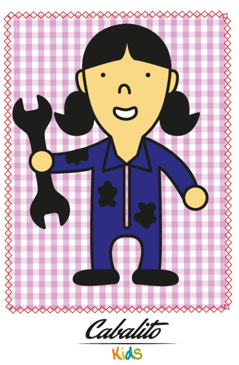 Los Chaches, diseño de personajes infantiles 20