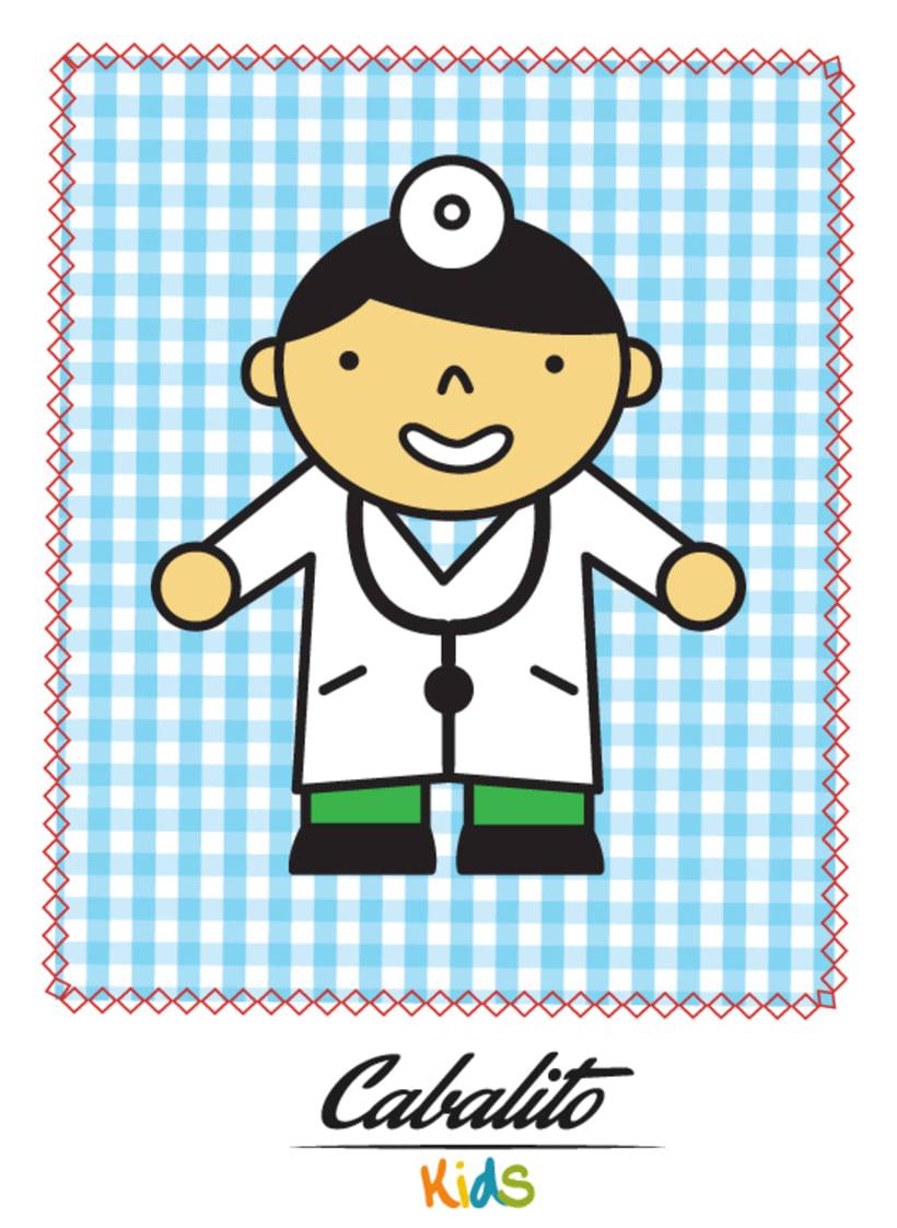Los Chaches, diseño de personajes infantiles 21