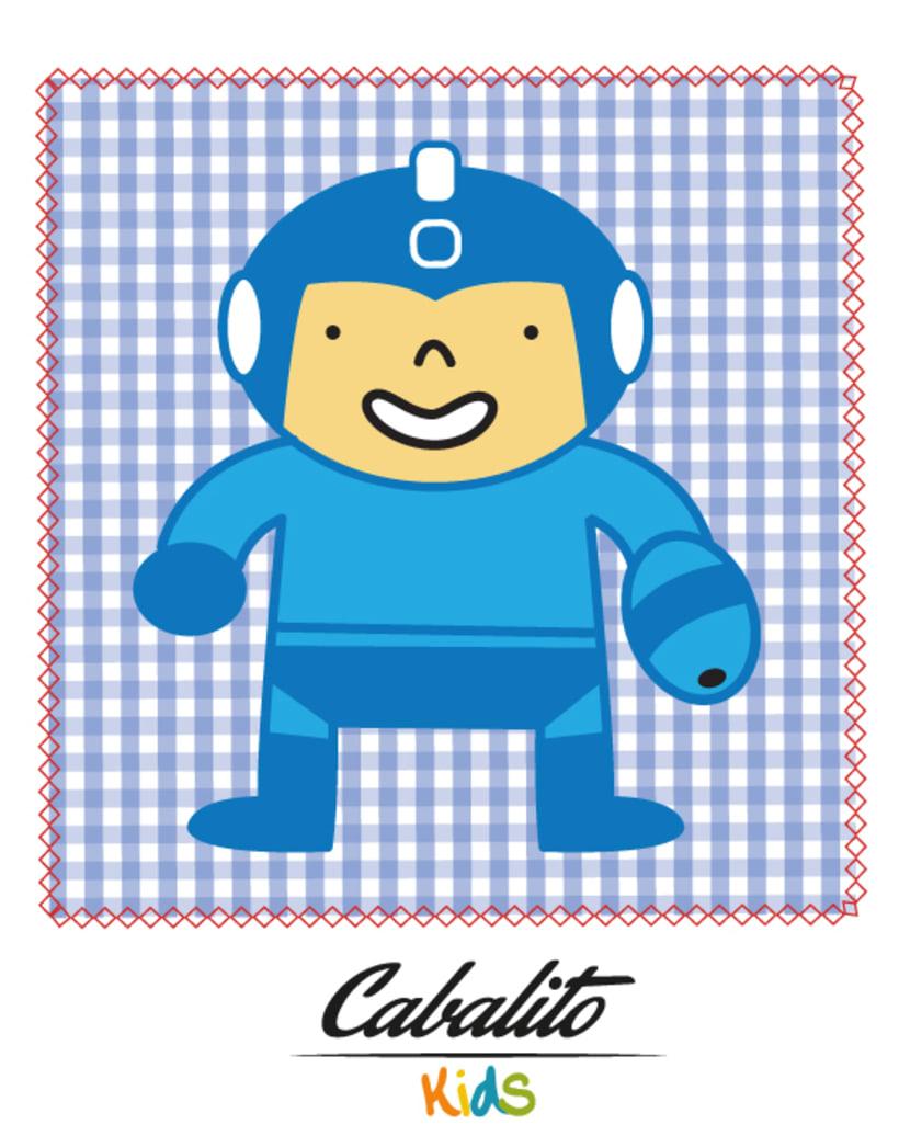 Los Chaches, diseño de personajes infantiles 22