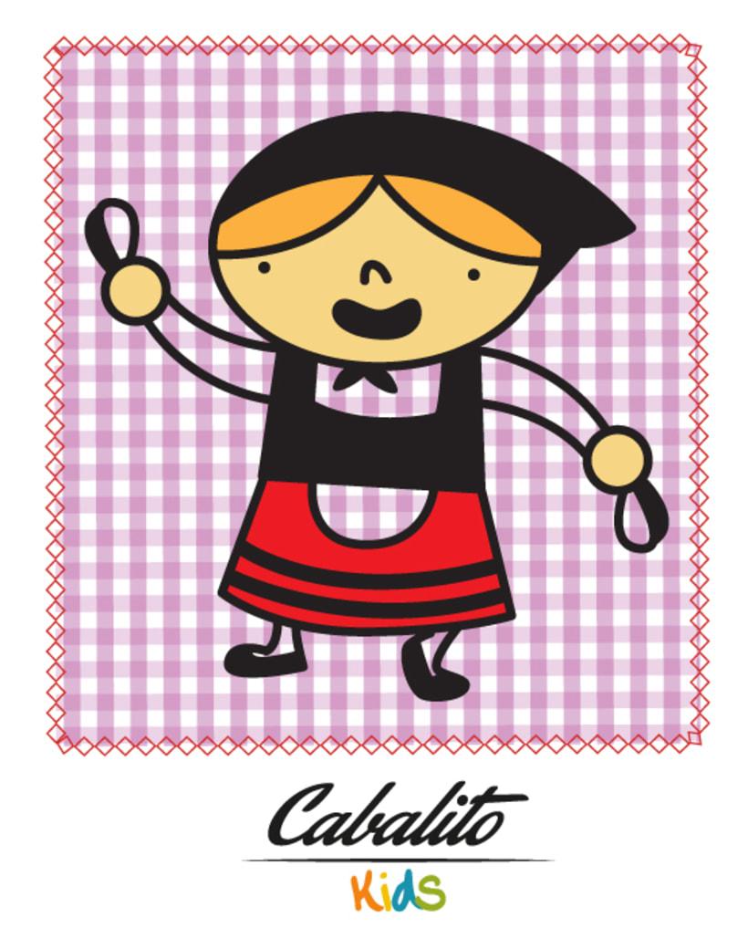 Los Chaches, diseño de personajes infantiles 27