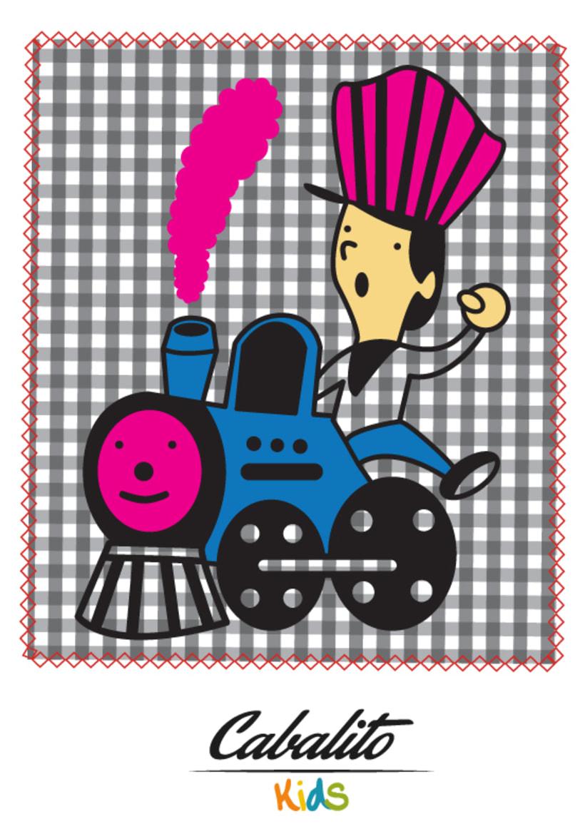 Los Chaches, diseño de personajes infantiles 30