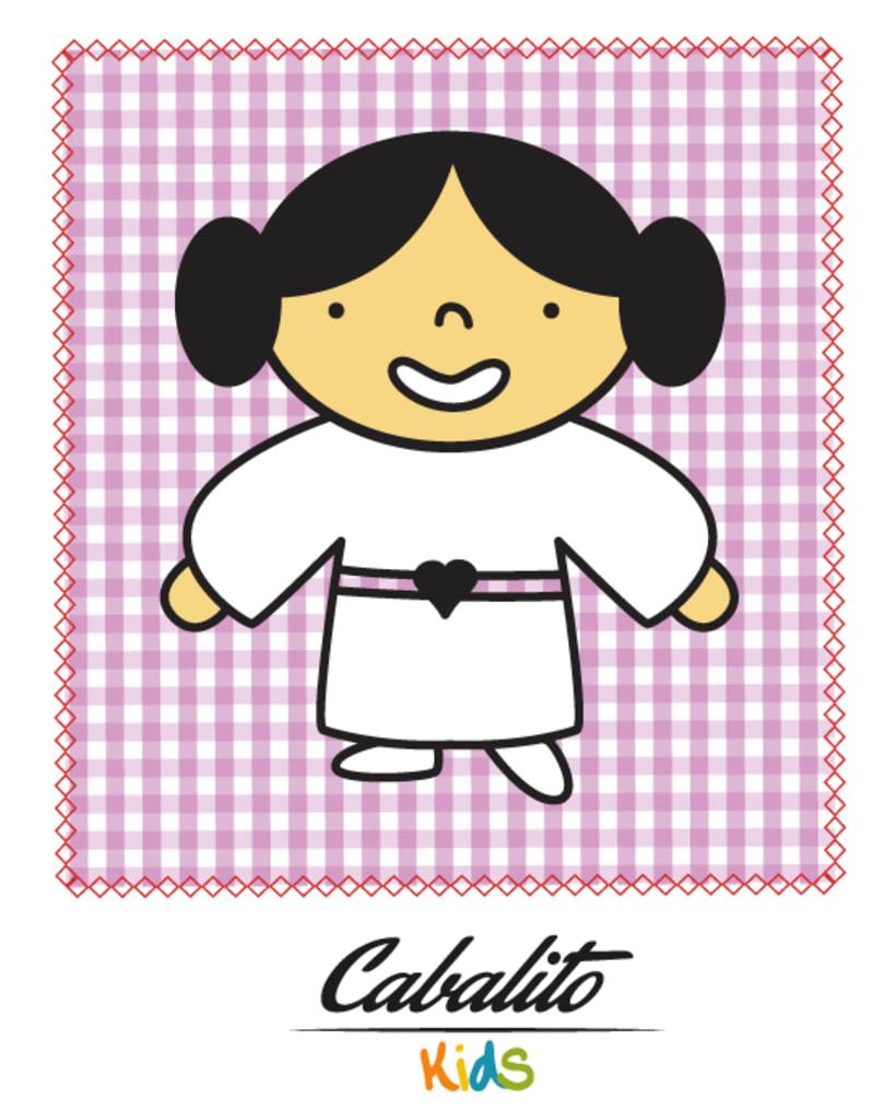 Los Chaches, diseño de personajes infantiles 32