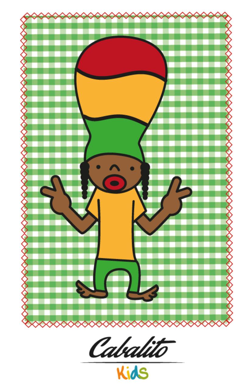 Los Chaches, diseño de personajes infantiles 35
