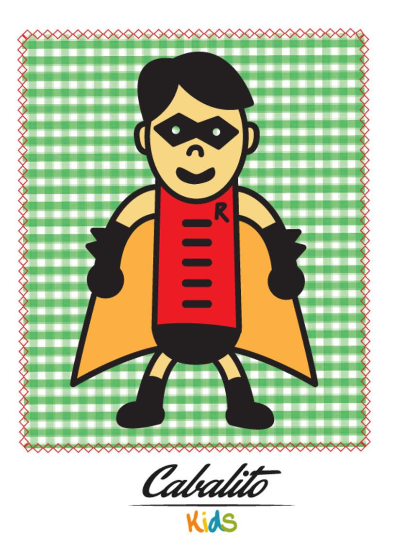 Los Chaches, diseño de personajes infantiles 36